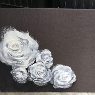 3'x4'  Sold Acrylic on Fabric