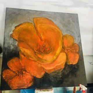 3'x3' Acrylic on Canvas