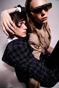 Publication: Simple Mag  Photography & Art Direction: Cinta Jassen Models: Malou Zeeman and Selwyn Anthony Makatita  Stylist: Junior Celine Makeup & Hair: Cristina Rosu
