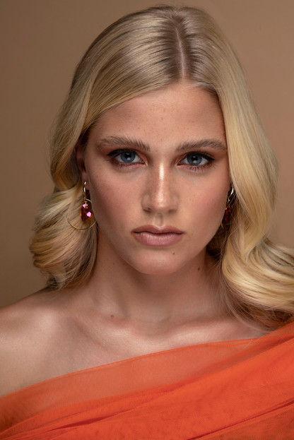 Model: Hester Stokman Makeup, Hair & Photography: Cristina Rosu