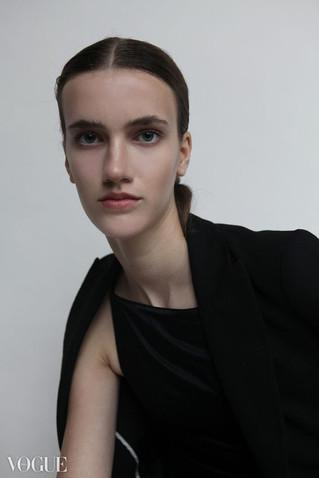 Publication: Vogue Italia  Photographer: Nienke Wind Model: Elise - Agency: A&P Model Management Makeup & Hair: Cristina Rosu