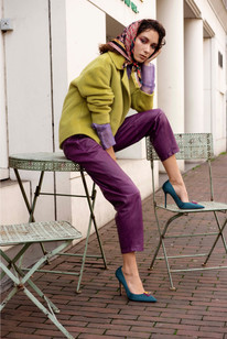 Photography: Sabrina Charehbili Model: Model: Suzannah Yumi - Agency: Radical Faces Stylist: Carla M. Sola for ACIDE Makeup & Hair: Cristina Rosu