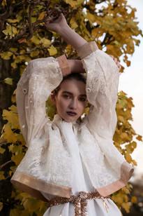 Photography: Sabrina Charehbili Model: Marijn de Landmeter - Agency: Linda Models Designer: Weiyu Hung Makeup & Hair: Cristina Rosu