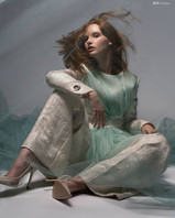 Publication: MOD Magazine  Photography: Sabrina Charehbili Model: Dewi van der Smissen - Agency: Wkd Models Designer: Anbasja Blanken Makeup & Hair: Cristina Rosu