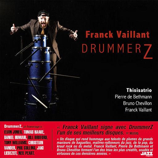 DrummerZ pochette avec Sticker thisisatr