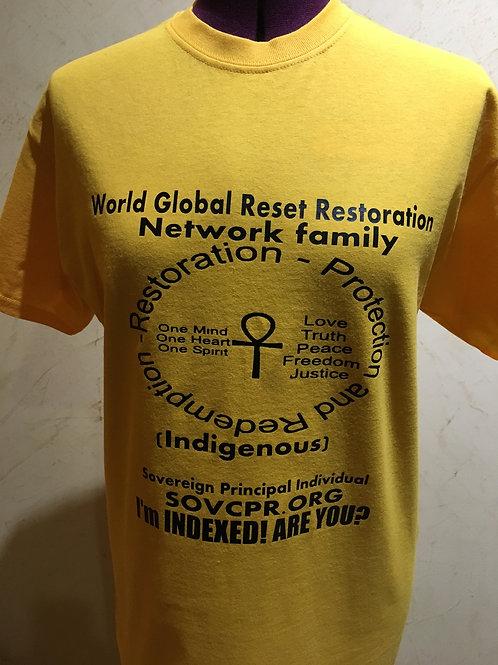 GLOBAL RESET FAMILY T-SHIRT