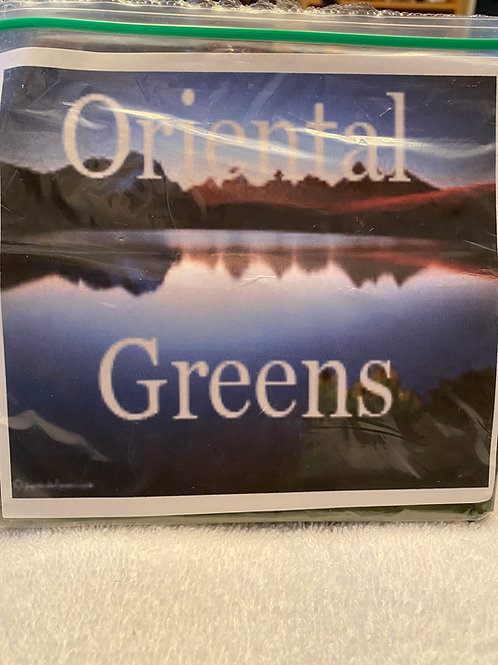 Oriental Greens