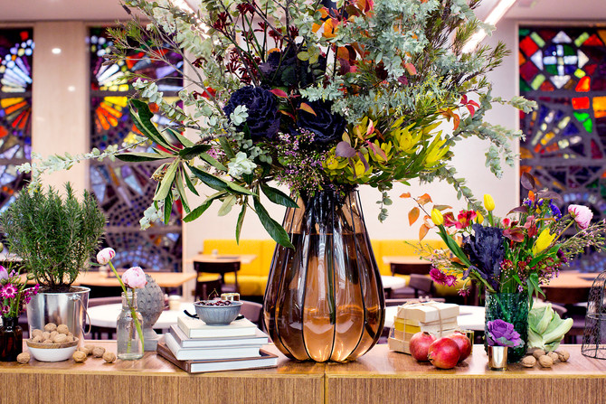 Lady Larissa and the art of floristry