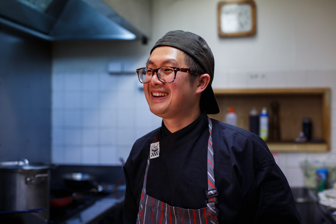 Meet the team: Interview with Pollen's Head Chef, Simon