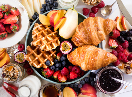 How-to style the perfect breakfast grazing table