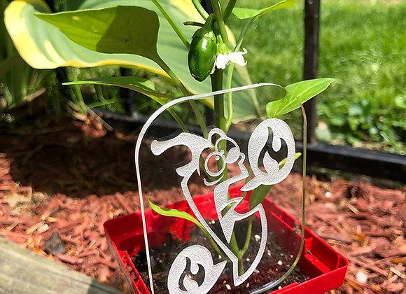 Hot Pepper Garden Sign