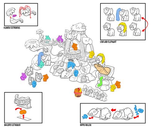 Play Doh Town Zoo Color Study 02c.jpg
