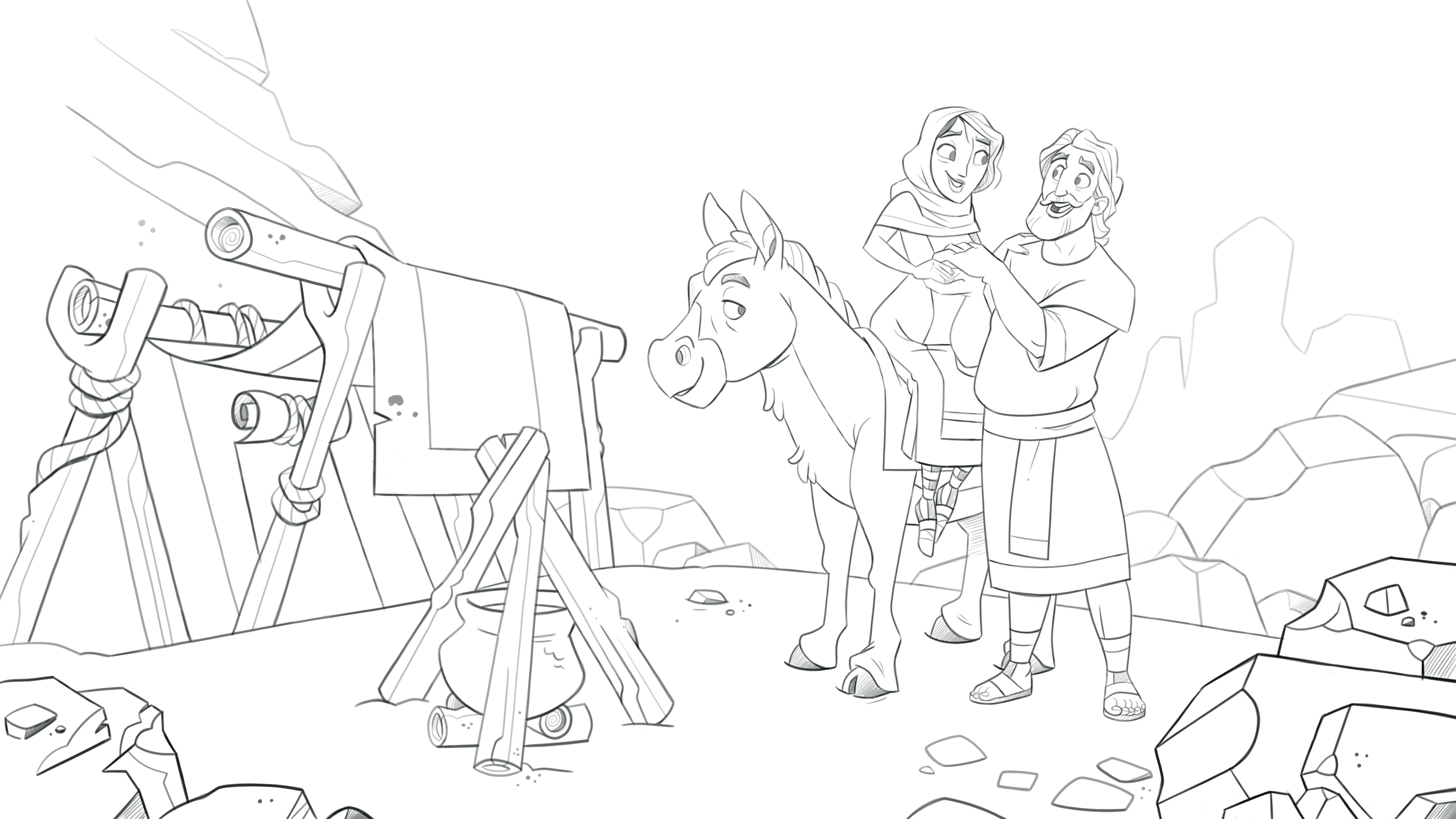 Scene_Mary_Joseph_Sketch_01