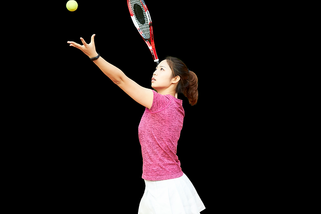 Asian tennis lady black backgrouns.png