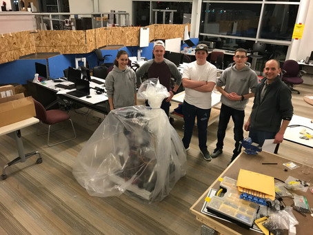 End of Build Season = Bagged and Tagged Robot