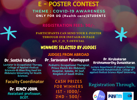 E-poster contest winners - announced on 18/05/2020