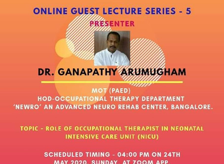 Online Guest Lecture series - 5