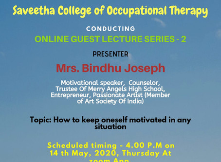 Online Guest Lecture Series - 2