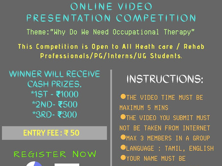 Online Video Contest For OT Day