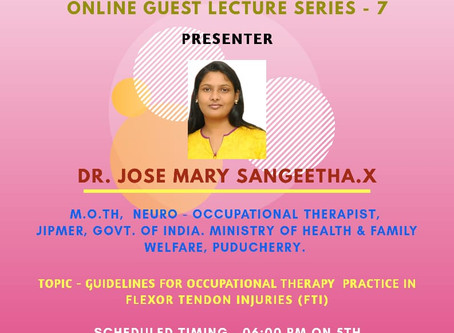 Online Guest Lecture series - 7
