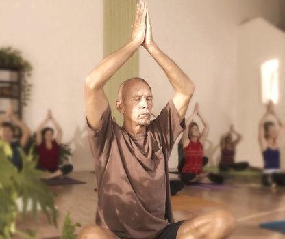 Dad in Yoga