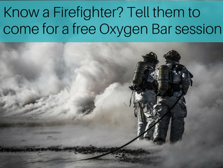 Announcing our Give Back Campaign - This Month Firefighters get Free Oxygen