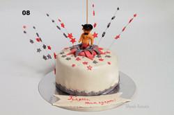 торт на дівочу вечірку