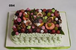 торти з фруктами
