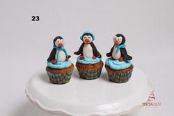 Капкейки пінгвіни