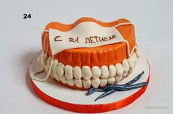 торт для зубного лікаря