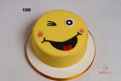 Торт смайлик