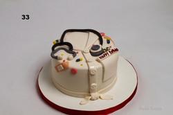 торт для лікаря