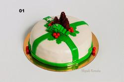 торт на різдво