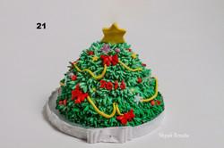 торт на новий рік