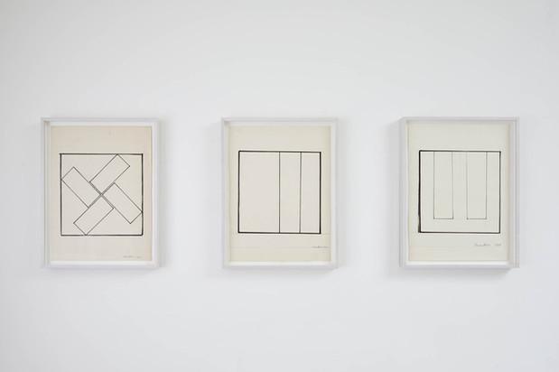 (L-R), Untitled 1986, 1987, 1987