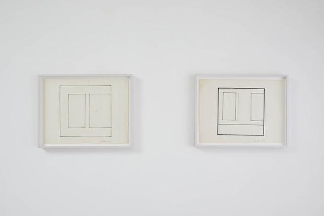 (L-R) Untitled 1982, 1986