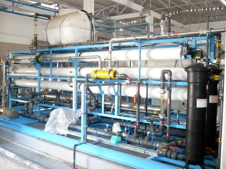Desalination Plant - Hitam