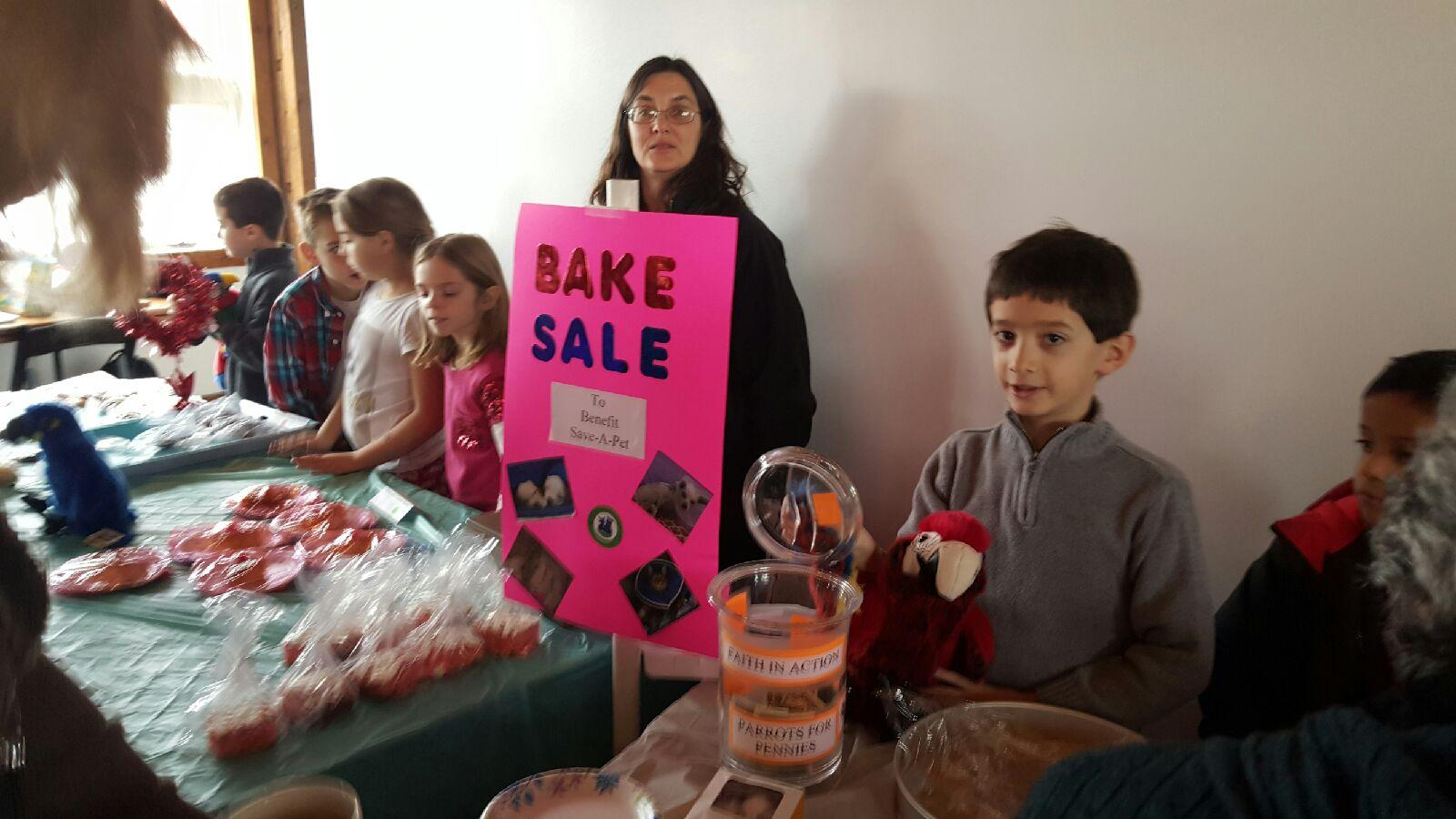 RE Bake Sale February 2016