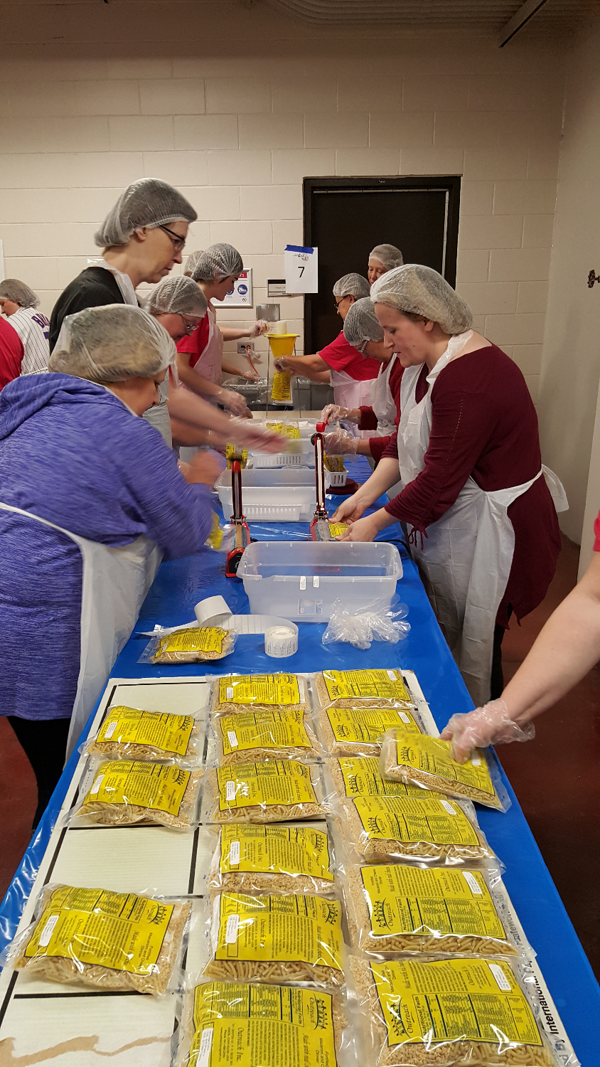 Meal Packing at UL - Dec. 5, 2015
