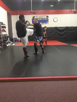 Kickboxing at Team Tooke MMA