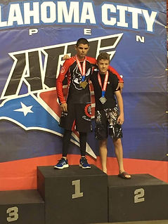 Keelan Smith wins his match at AGF OKC
