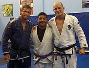 Professor Travis Tooke, Edgar Escalante, Professor Xande Ribeiro