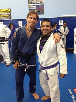 Professor Travis and coach Edgar