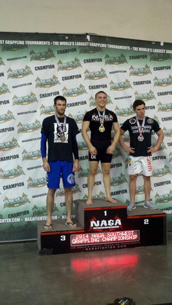 Jared at the podium