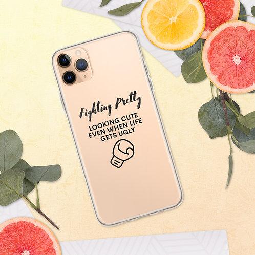 Fighting Pretty iPhone Case