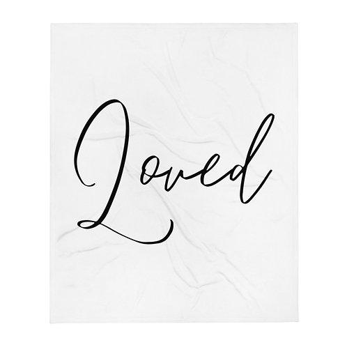 Loved Throw Blanket