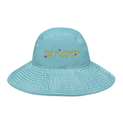 Feed Me Attention Bucket Hat
