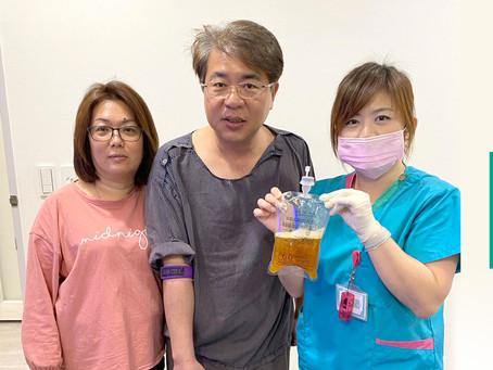 氦氖雷射搭配血液淨化和EECP 讓感情好夫妻健康呷百二