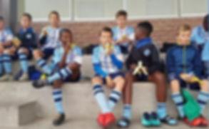 Kinder des Sportclubs SFC Swakopmund