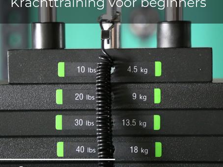 Krachttraining: effecten, oefeningen en tips voor beginners